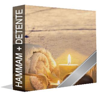 Hammam + Lit hydromassant + Espace détente